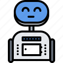 assistant, device, gadget, robot, smart, technology icon