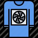 device, fan, gadget, pullover, smart, sweater, technology