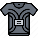 device, gadget, sensor, shirt, smart, t, technology icon