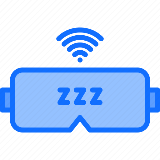 device, gadget, mask, sleep, smart, technology, tracker icon