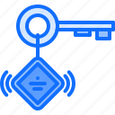 beacon, device, gadget, key, ring, smart, technology icon