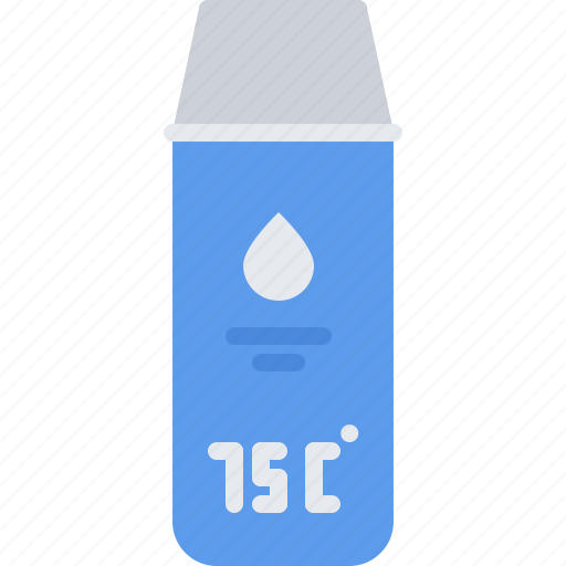 device, gadget, smart, technology, temperature, thermos, water icon