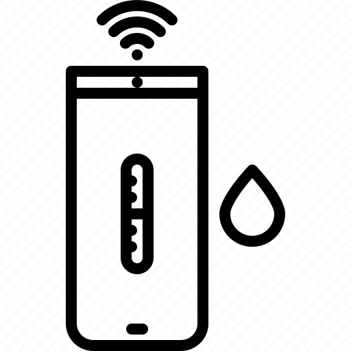 cup, device, gadget, smart, technology, temperature, water icon
