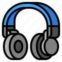 headphone, headset, sound, wireless icon