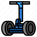 personal, segway, transportation, vehicles icon