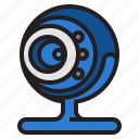 camera, live, web, webcam icon