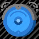 clean, cleaner, robotic, vacuum icon
