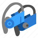 bluetooth, earphones, sport, wireless icon