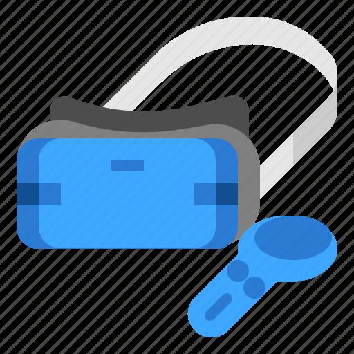 gadget, reality, virtual, vr icon