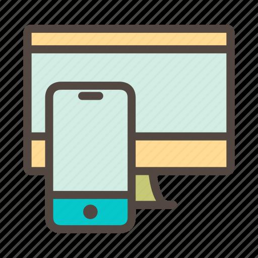communication, device, electronic, gadget, smart, smartphone, technology icon