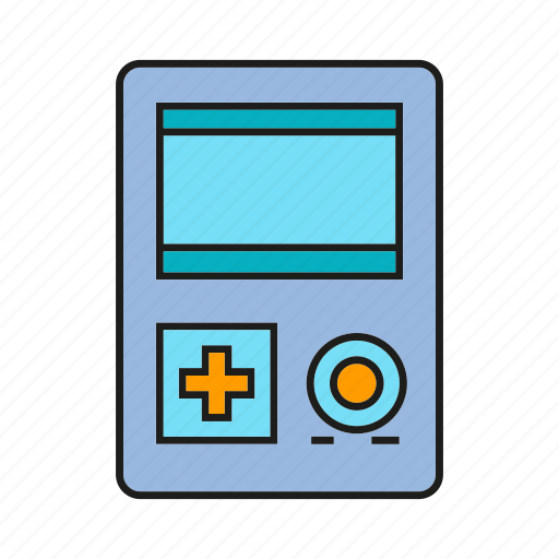 electronic, gadget, game, play icon