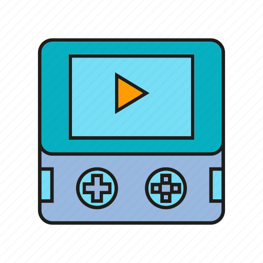 console, controller, game, media, play icon