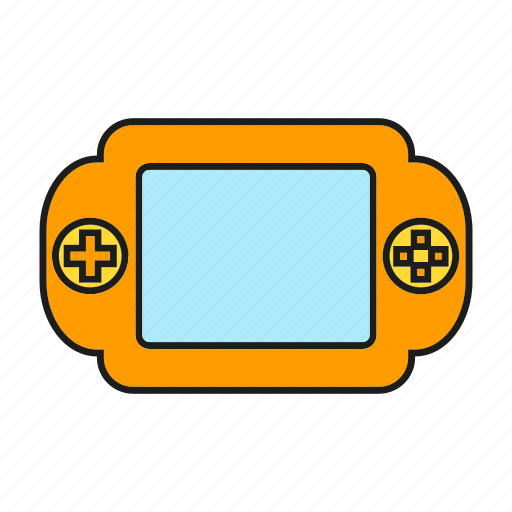 device, electronic, gadget, game icon
