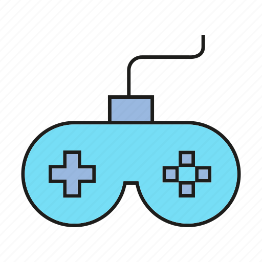 controller, device, electronic, gadget, game, joystick icon