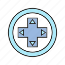 controller, device, electronic, fun, game icon