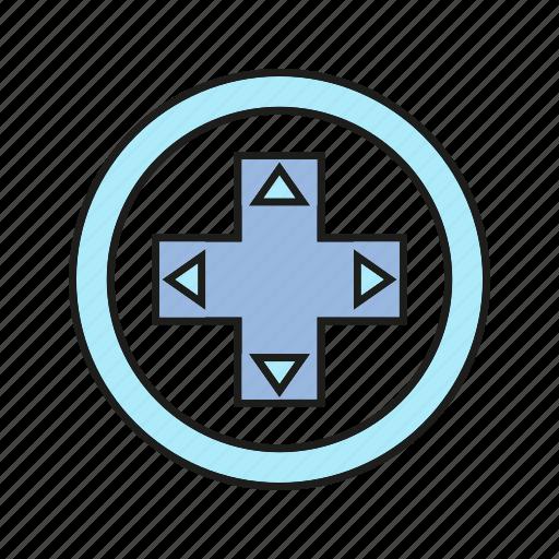 controller, device, electronic, fun, game icon