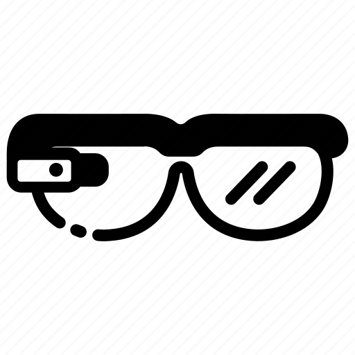 device, future, gadget, glasses, lens, optics, smart icon
