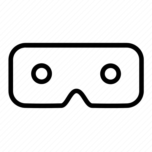 gadget, glasses, vr icon