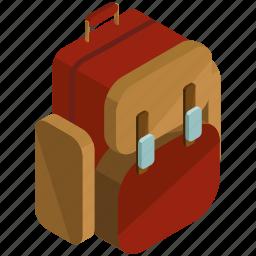 backpack, bag, baggage, briefcase, rucksack icon