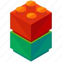 child, game, lego, play, toy icon