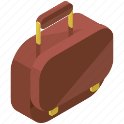 accessories, bag, baggage, briefcase, luggage, suitcase icon