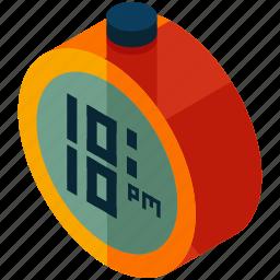 alarm, alert, clock, round, time, timer icon