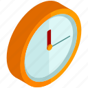 wall, clock, timepiece, wait, time icon