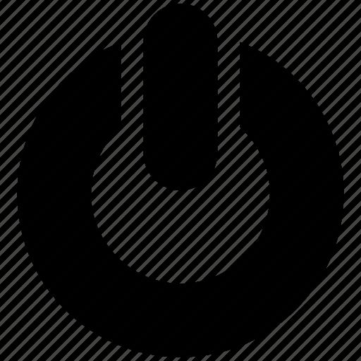 Off, on, power, restart, start button, switch icon - Download on Iconfinder