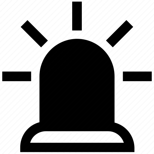 Alarm, alert, ambulance, emergency, police horn, police siren icon - Download on Iconfinder