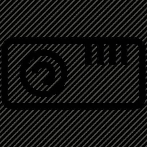 dpl, multimedia, projector, video icon