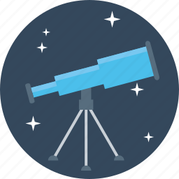 astronomy, lense, mirror, optical, radio, telescope, tracker icon