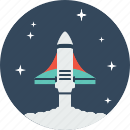 alien, galaxy, invasion, launch, rocket, spaceship, universe icon