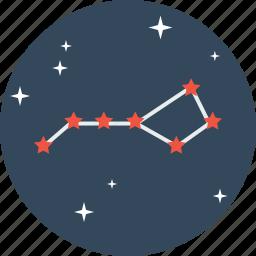 astrology, galaxy, pattern, saptrishi, space, star, universe icon