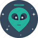 alien, human, life, mysterious, planet, secret, space icon