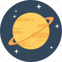 astrology, galaxy, planet, ring, saturn, solar system, universe icon