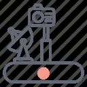 lunar rover, lunar vehicle, moon car, moon rover, moonwalker, robot rover icon