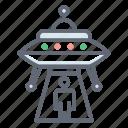 alien spaceship, alien transport, flying saucer, space shuttle, spaceship, ufo icon