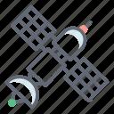 satellite dish, space shuttle, space station, spacecraft, spaceship icon