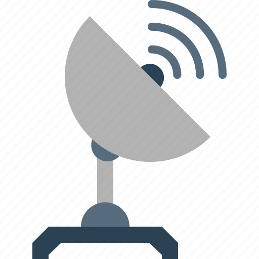 communication, radio, satellite, space, telescope, tracker, wave icon