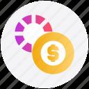 casino, change, dollar sign, gambling, game, house icon