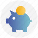 bank, coins, credit, money bank, piggy, piggy bank, saving