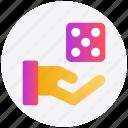 board game, casino, dice, gambling, game, hand