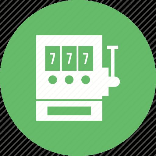 Casino, gambling, jackpot, machine, seven, slot, winner icon - Download on Iconfinder