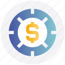 casino chip, casino dollar chip, dollar sign, gambling, game icon