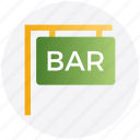 bar, food and drink, law, media and entertainment, science and computing