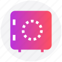 money box, bank safe, locker, bank locker, safe box icon