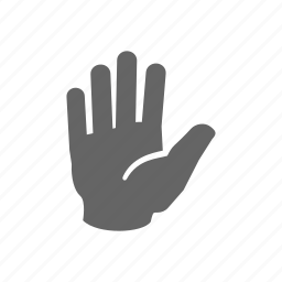hand, hold, pass, wait icon