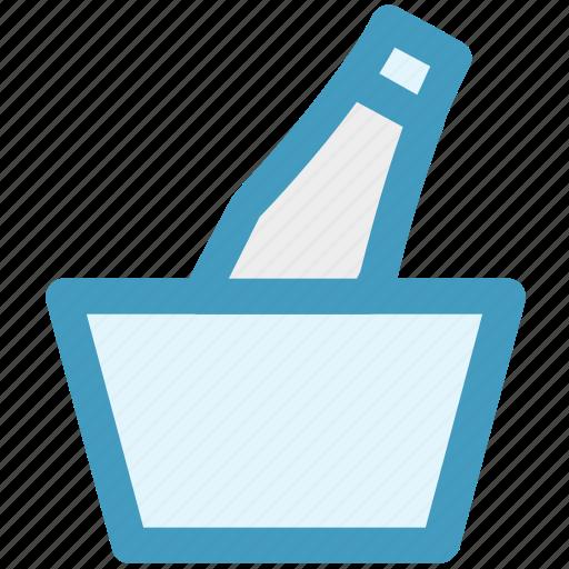 alcohol, beer, beer bucket, drink, fresh beer, iced beer icon