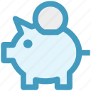 bank, coins, money bank, piggy, piggy bank, saving icon