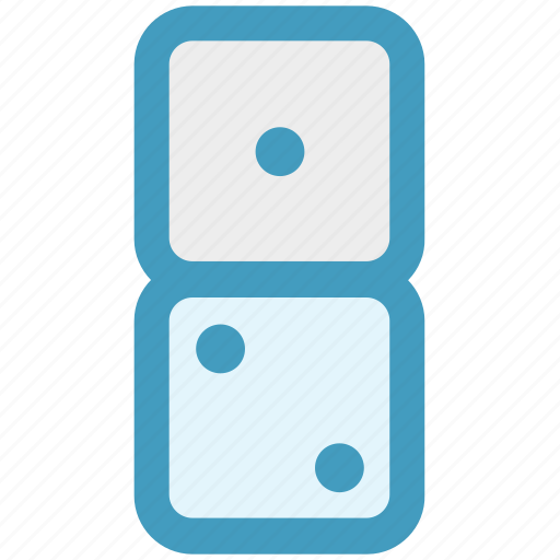 casino dices, cubes, dices, gambling, two dices icon